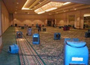 water-damage-restoration-las-vegas-dehumidification