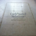 www.carbonatedsolutionsoflasvegas.com/After picture of cleaning grout floor and color sealing grout in Las Vegas NV