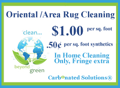 Las Vegas Oriental Area Rug Cleaning coupon $1.00 sq foot