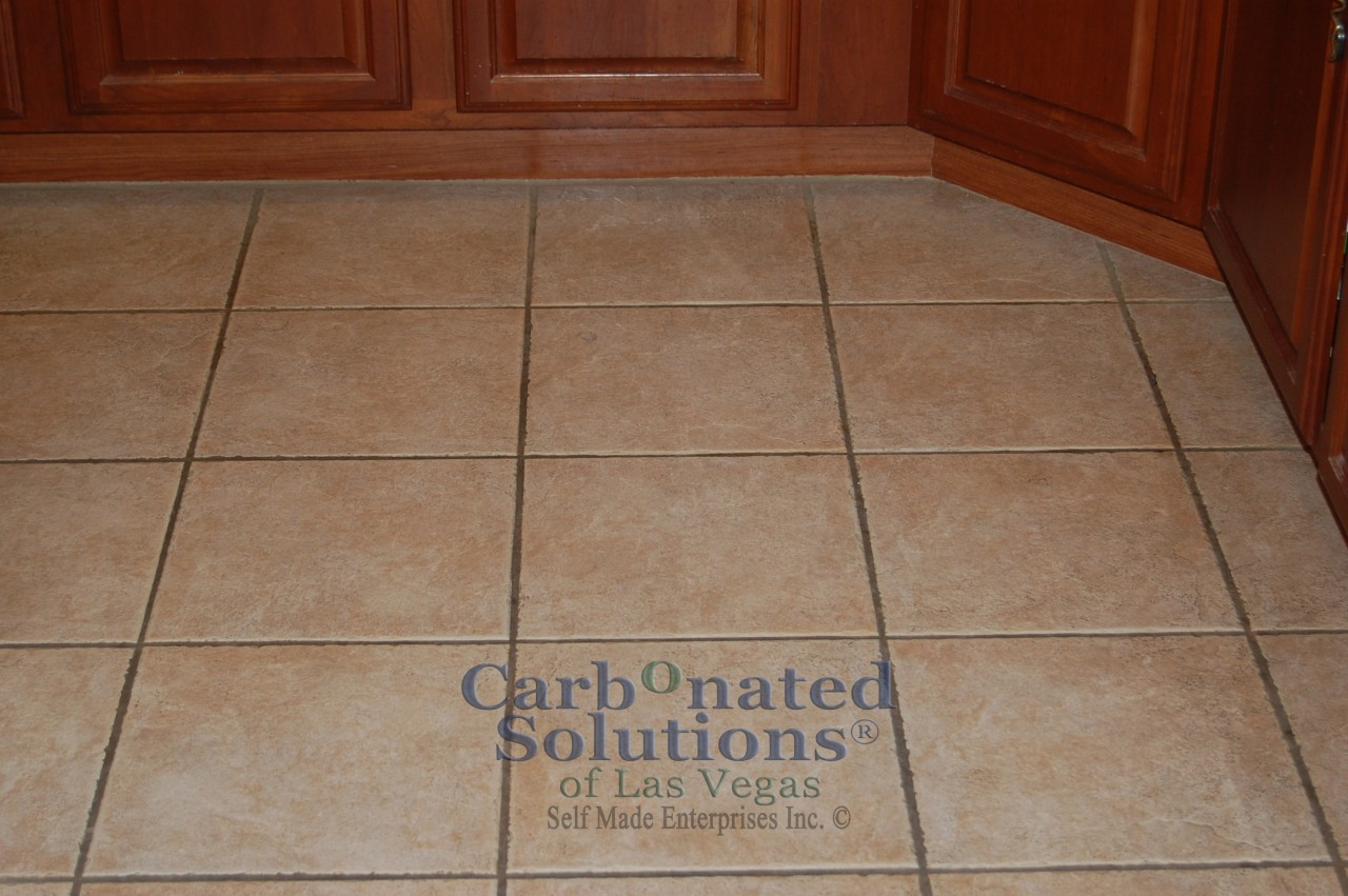 Grout Sealing In Las Vegas By Carbonated Solutions