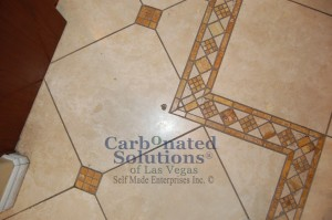 Travertine and natural cleaning and polishing Las Vegas